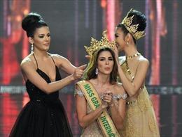 Người đẹp Peru Maria Jose Lara đăng quang Hoa hậu Hòa bình thế giới 2017