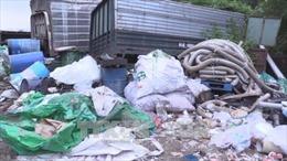 Xử lý nghiêm hành vi đổ rác thải công nghiệp không đúng nơi quy định