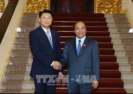 Thủ tướng Nguyễn Xuân Phúc tiếp Tư lệnh Cơ quan Cảnh sát quốc gia Hàn Quốc