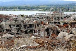 Cảnh tượng như 'ngày tận thế' ở Marawi sau khi thoát khỏi phiến quân Hồi giáo