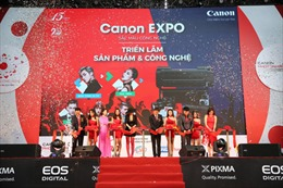 Triển lãm Sắc màu công nghệ Canon EXPO 2017