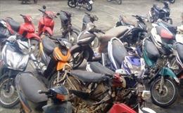 Bắt nhóm đối tượng trộm cắp 38 xe máy tại Hà Nội