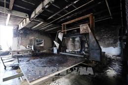 Đà Nẵng: Cháy cơ sở sản xuất nệm trong khu dân cư