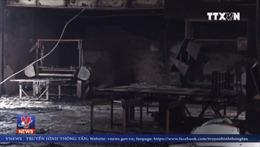 Đà Nẵng: Cháy gây thiệt hại lớn cho cơ sở sản xuất nệm mút