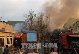 Hỏa hoạn thiêu rụi một nhà gỗ tại Đà Lạt