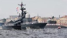Tung hơn 100 tàu chiến, Hải quân Nga đảm bảo sự hiện diện khắp thế giới