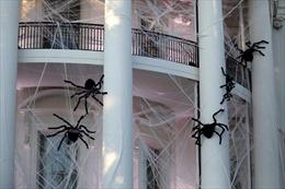 Nhà Trắng 'hóa trang' rùng rợn ngày Halloween