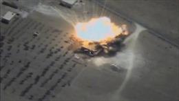 Tàu ngầm Nga nã tên lửa giã nát mạng lưới chỉ huy IS tại Deir ez-Zor
