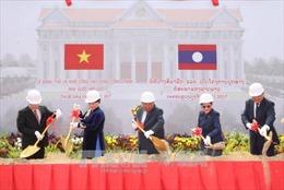 Động thổ Nhà Quốc hội Lào - quà tặng của Đảng, Nhà nước và nhân dân Việt Nam