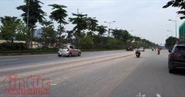 Hà Nội phản hồi thông tin bụi ô nhiễm trên đường Võ Chí Công