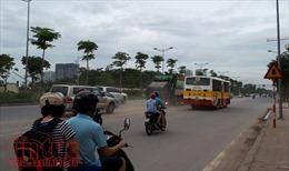 Đường Võ Chí Công bụi mù mịt, ô nhiễm môi trường