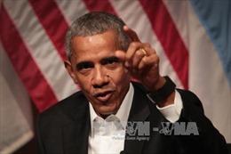 Cựu Tổng thống Mỹ Obama lạc quan về một sự thay đổi tích cực trong giới trẻ