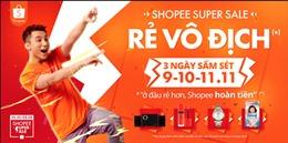 'Shopee Super Sale' - sự kiện mua sắm lớn nhất cuối năm