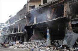 Nga tấn công tên lửa và không kích quy mô lớn tại Syria nhắm vào IS