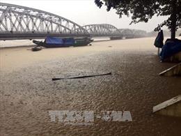 Nước sông Hương vượt báo động 3, nhiều vùng ngập lụt