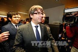 Cựu Thủ hiến Catalonia tự thú trước cảnh sát Bỉ