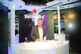 'The World of Heineken' trải nghiệm hoàn hảo tại 3 tầng cao nhất của tòa nhà BITEXCO