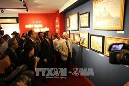 Khai mạc triển lãm mỹ thuật 'Kỷ niệm - Một thời Xô Viết'
