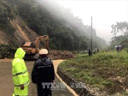 Kon Tum: Tập trung khôi phục các tuyến đường sạt lở do mưa bão số