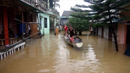 Nhật Bản hỗ trợ máy lọc nước cho các tỉnh miền Trung bị bão lụt