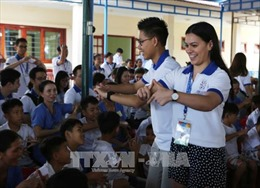Đoàn đại biểu thanh niên các nền kinh tế thành viên APEC thăm Quảng Nam