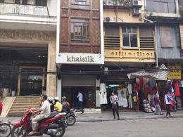 Cục Thuế Hà Nội công bố kết quả kinh doanh của Khaisilk Hàng Gai