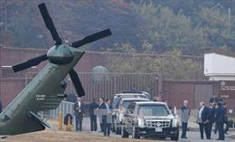 Tổng thống Mỹ Trump hủy chuyến thăm Khu phi quân sự liên Triều