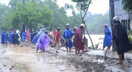Thành phố Hội An dọn vệ sinh môi trường sau bão lũ