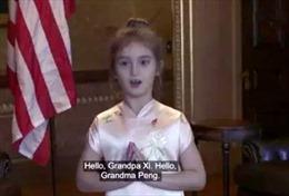 Cháu gái Tổng thống Trump trở thành 'ngôi sao ngoại giao nhí' ở Trung Quốc