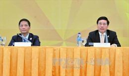 Họp báo thông tin kết quả Hội nghị liên Bộ trưởng Ngoại giao - Kinh tế APEC lần thứ 29