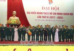 Bộ trưởng Quốc phòng dự Đại hội đại biểu Đoàn Thanh niên cộng sản Hồ Chí Minh Quân đội