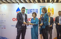 Tân Á Đại Thành tham gia Triển lãm Quốc tế ngành Cấp thoát nước và Xử lý nước thải