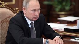 Tổng thống Putin nghi Mỹ âm mưu phá rối bầu cử Nga năm 2018