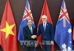 APEC 2017: Thủ tướng Nguyễn Xuân Phúc hội đàm với Thủ tướng Australia