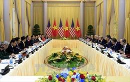 Chủ tịch nước Trần Đại Quang hội đàm với Tổng thống Hoa Kỳ Donald Trump