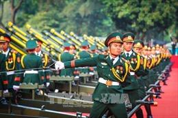 Nghi lễ bắn 21 phát đại bác chào mừng Tổng Bí thư, Chủ tịch Trung Quốc Tập Cận Bình