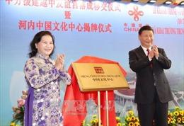 Khánh thành Cung Hữu nghị Việt - Trung