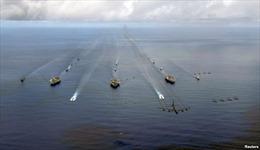 Ba tàu sân bay Mỹ rầm rập tập trận sát Triều Tiên