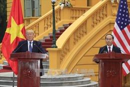 Nhà Trắng ra thông cáo hoan nghênh kết quả chuyến thăm Việt Nam của Tổng thống Trump