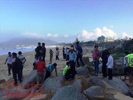 Hà Tĩnh tìm thấy thi thể học sinh bị sóng đánh chìm ở biển Thiên Cầm