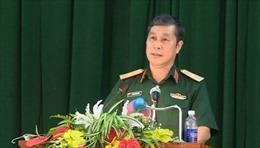 Kỷ luật cảnh cáo Phó Tư lệnh Quân khu 1