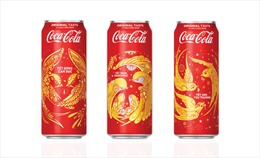 Coca-Cola tung 3 mẫu bao bì chào đón Tết 2018