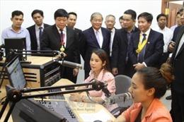 Khánh thành giai đoạn 1 dự án xây dựng 9 đài phát sóng cho Campuchia