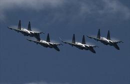Máy bay Nga 3 lần xuất kích liên tiếp 'dằn mặt' phi cơ do thám nước ngoài