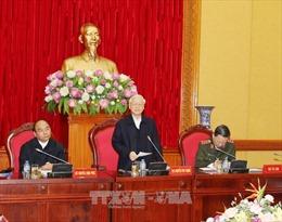Tổng Bí thư dự phiên họp Ban Thường vụ Đảng ủy Công an Trung ương