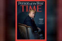 Tổng thống Trump từ chối danh hiệu 'Nhân vật của năm'