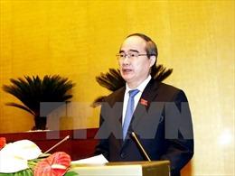 Lãnh đạo Thành phố Hồ Chí Minh thăm các y bác sỹ, đơn vị y tế tiêu biểu