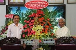 Chủ tịch UB Trung ương MTTQ Trần Thanh Mẫn chúc mừng Giáng sinh tại An Giang