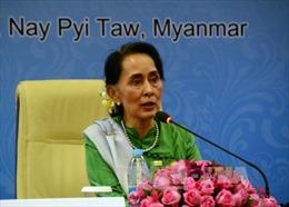 Cố vấn nhà nước Myanmar San Suu Kyi sẽ thăm Trung Quốc