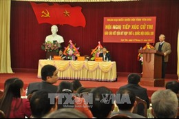 Lãnh đạo Đảng, Nhà nước tiếp xúc cử tri tại các địa phương